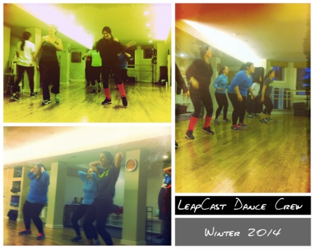 LeapCast Dance Crew- Winter 2014 Collage